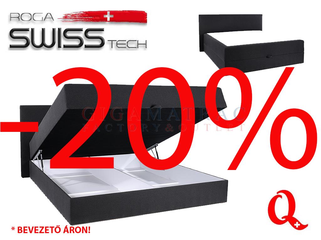 SwissTech ágyneműtartós boxspring ágy