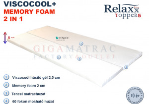 RelaXx® Topper 5 Viscocool
