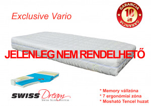 SwissDream Exclusive Vario matrac
