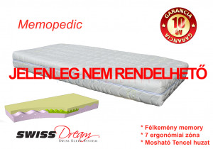 SwissDream Memopedic Memory foam matrac
