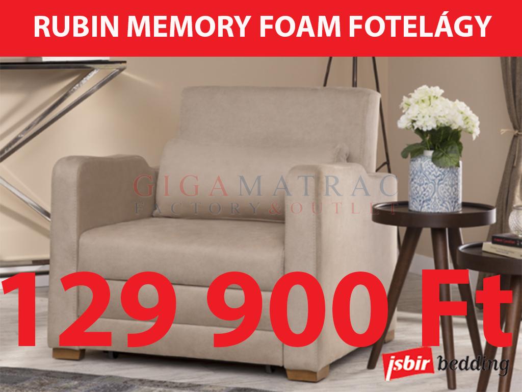 Isbir Rubin fotelágy akció