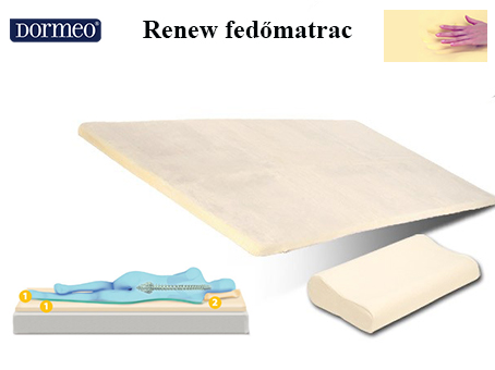 Dormeo Renew fedőmatrac 6cm - GigaMatrac Factory Outlet. Matrac ... df82895f9e