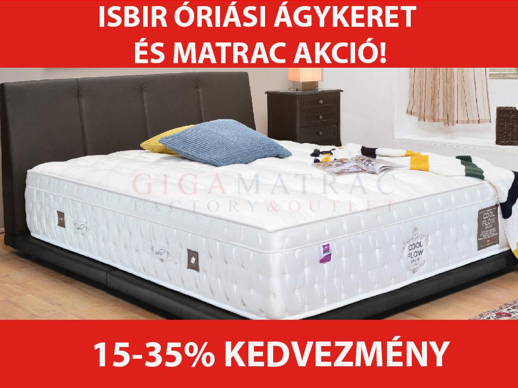 Isbir matrac és ágykeret akció 2019