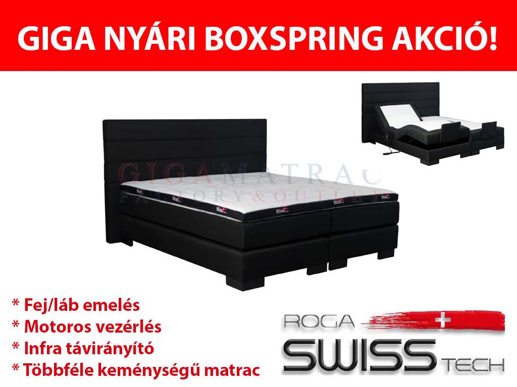 Swisstech boxspring akció