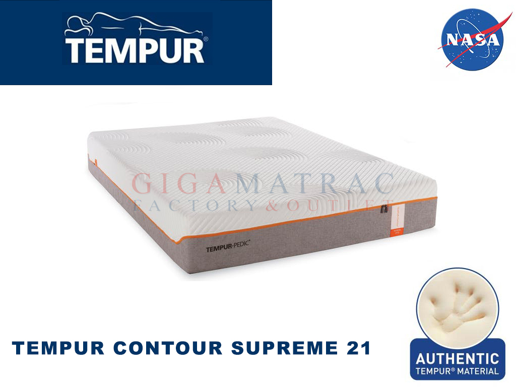 tempur original supreme 21 gigamatrac factory outlet. Black Bedroom Furniture Sets. Home Design Ideas