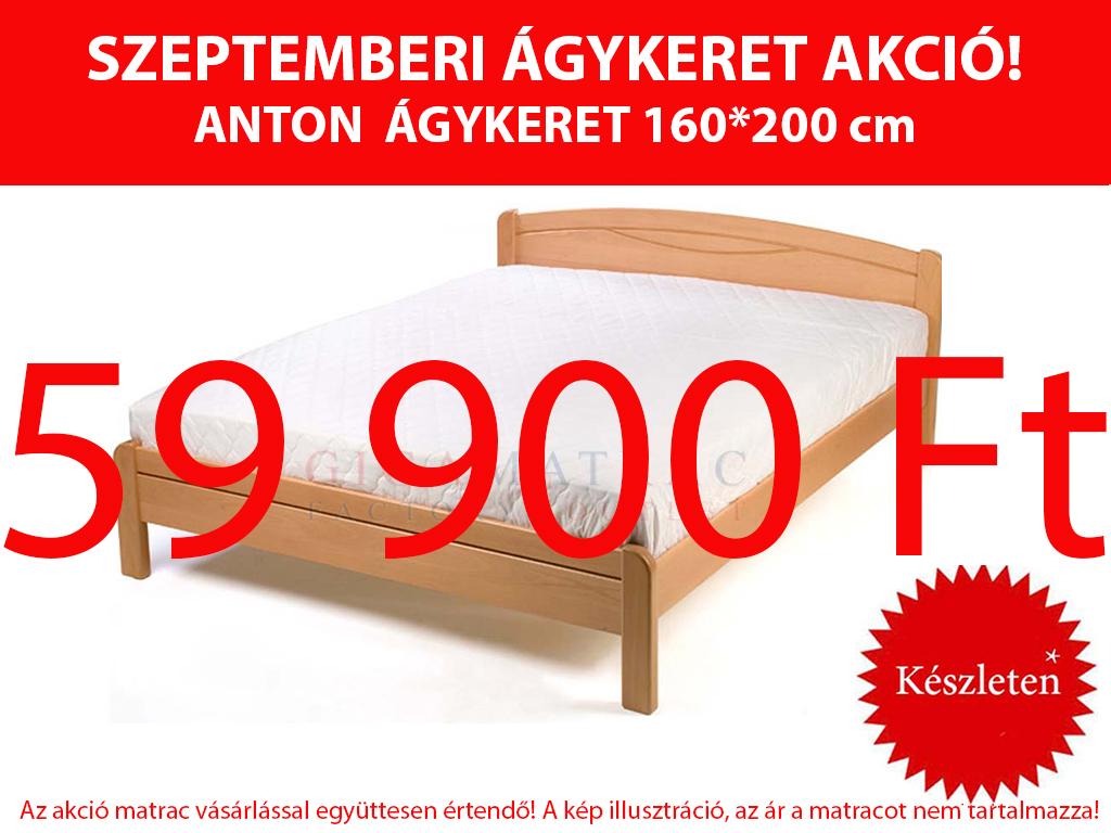Anton bükk ágykeret akció