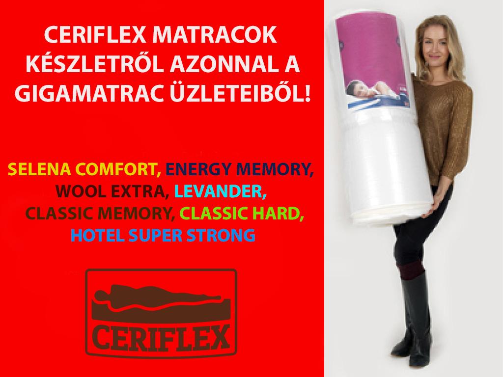 Ceriflex matracok készletről azonnal