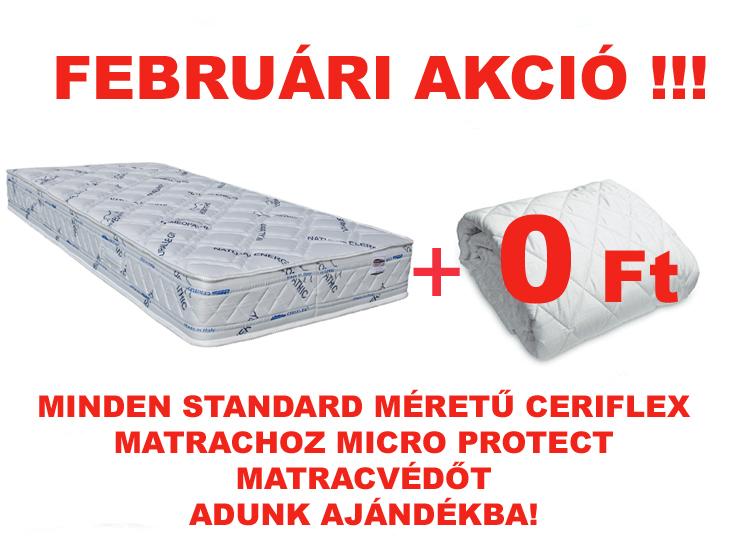 Ceriflex matracvédő akció 2016 február