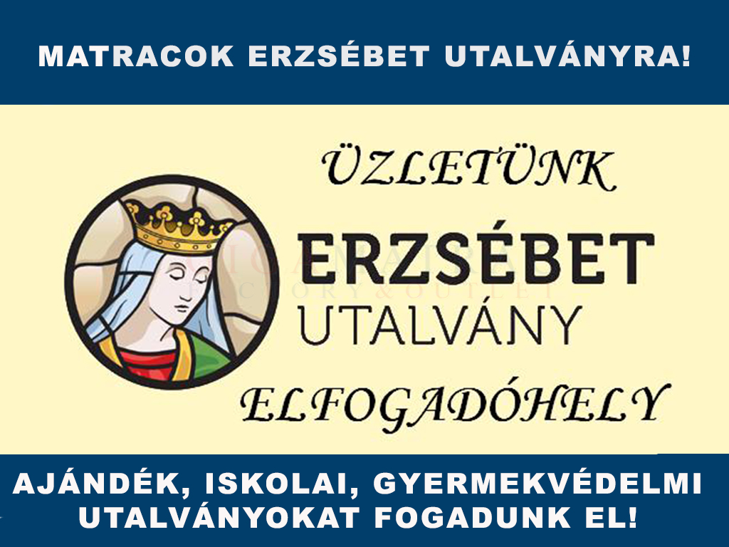 Matracok Erzsébet-kártyára és  -utalványra