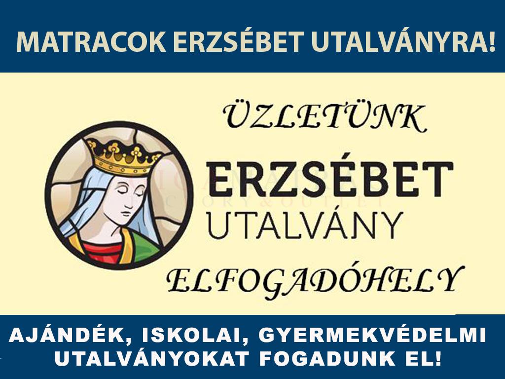 Matracok Erzsébet-kártyára és  utalványra