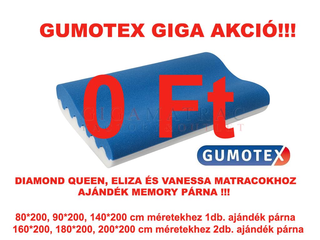 Gumotex akció ajándék párna