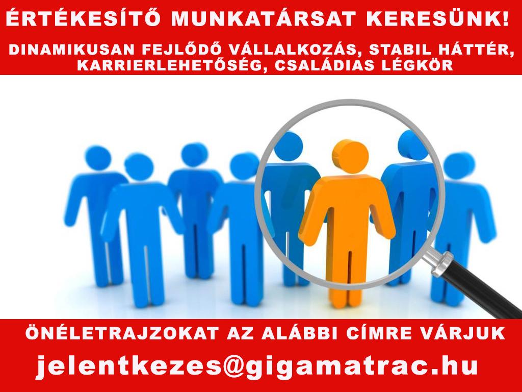 Állásajánlat, munkatársat keresünk