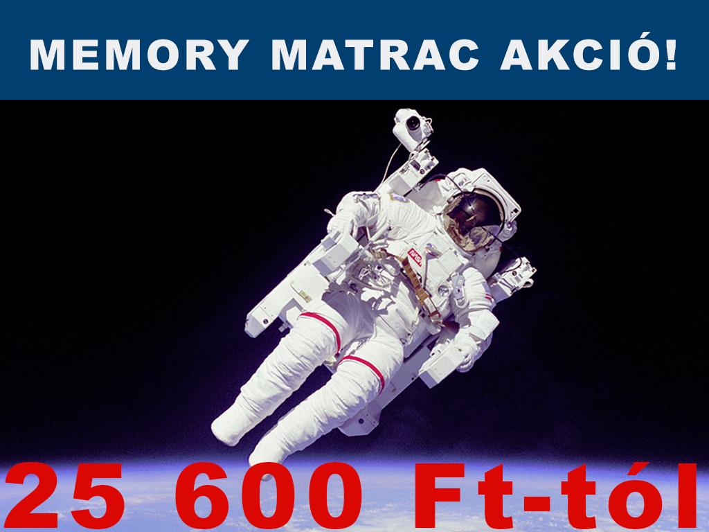 Memory matracok olcsón a Gigamatracnál, akciós memory matrac