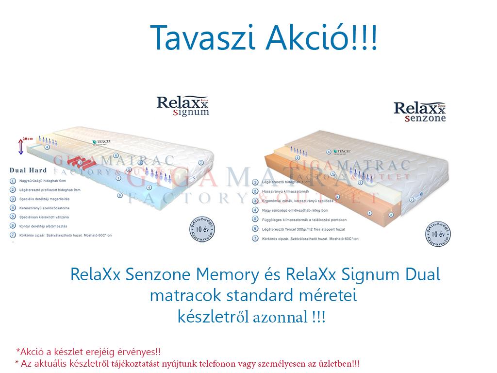 RelaXx Signum Senzone akció tavasz