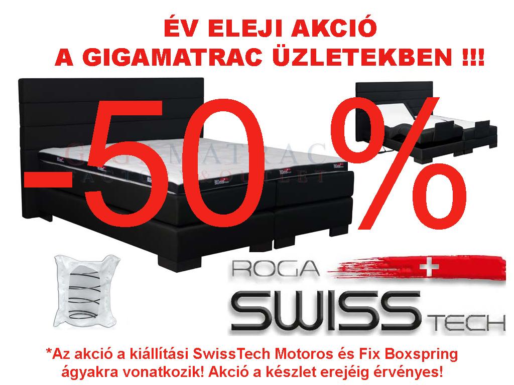 SwissTech boxpring akció