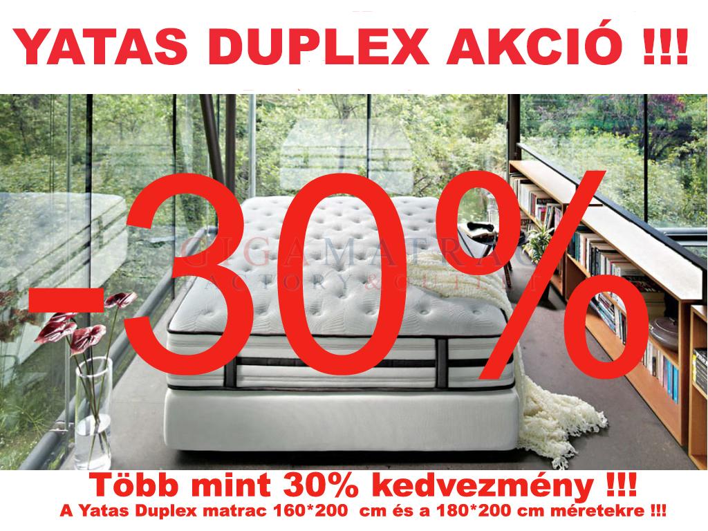 Yatas Duplex akció