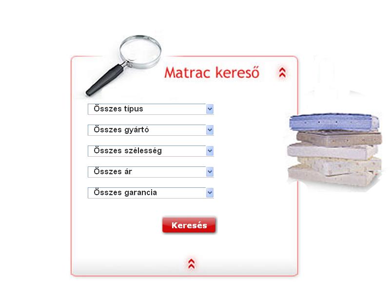 Matrac kereső